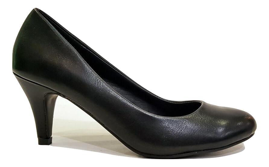 99ac621dc15 Γόβες Adams Shoes 822-5503 ΜΑΥΡΟ