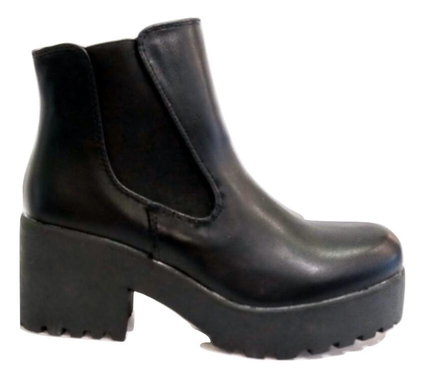 dc328bfde8e Μποτάκια Adams Shoes 822-6524 ΜΑΥΡΟ
